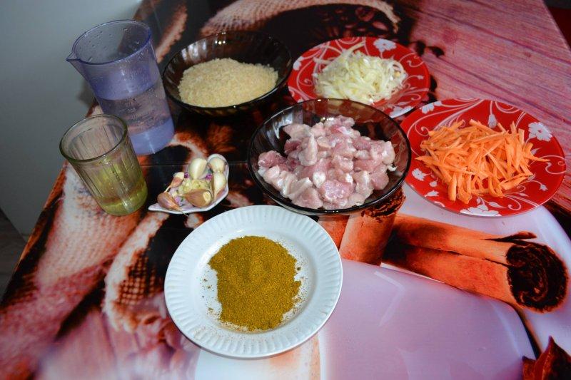 Плов на сковороде | Рецепт приготовления | Шаг 1