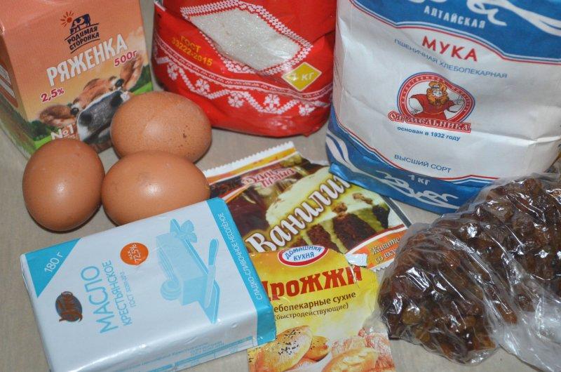 Пасхальный кулич на ряженке | Рецепт приготовления | Шаг 1