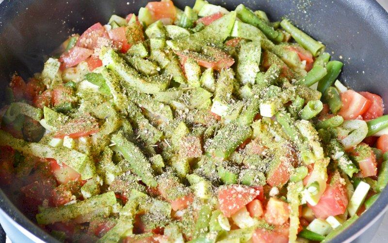 Овощи по-азиатски | Рецепт приготовления | Шаг 10