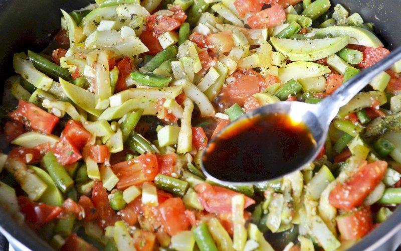 Овощи по-азиатски | Рецепт приготовления | Шаг 11