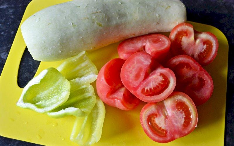 Овощи по-азиатски | Рецепт приготовления | Шаг 2