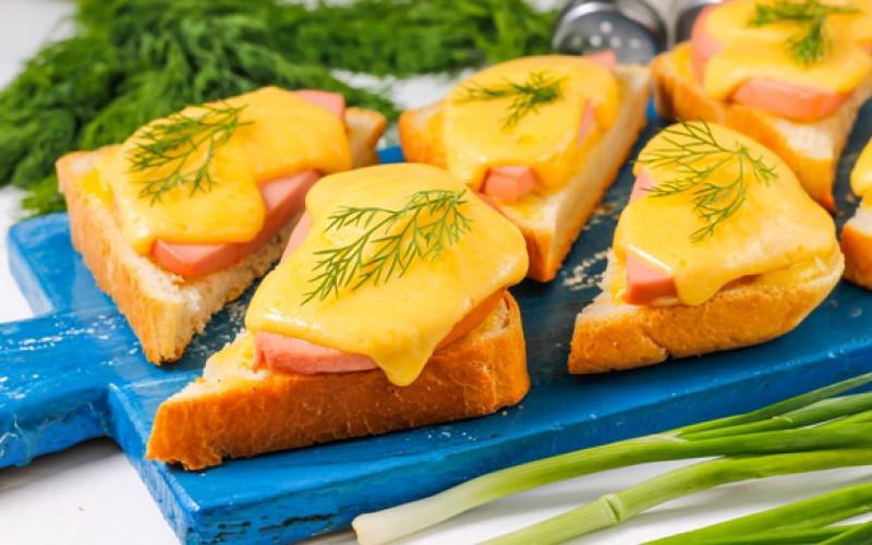 Горячий бутерброд | Главное фото блюда
