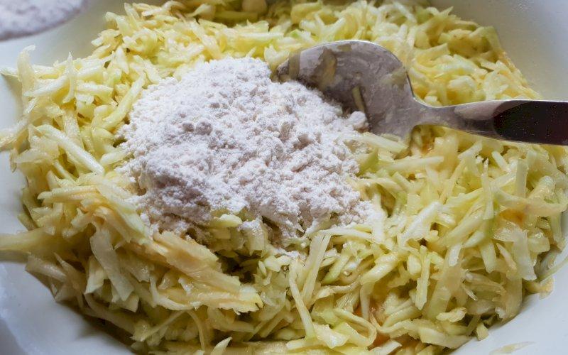 Оладьи из кабачков | Рецепт приготовления | Шаг 5