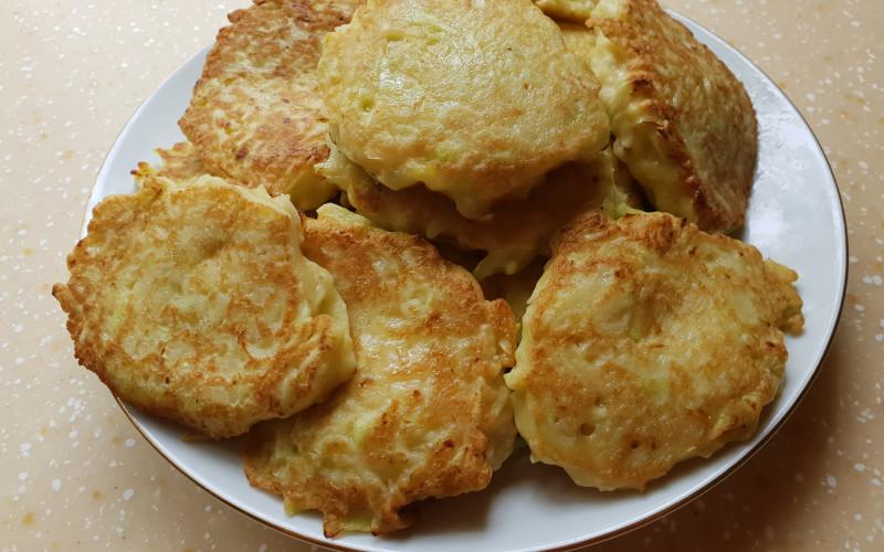 Оладьи из кабачков | Главное фото блюда