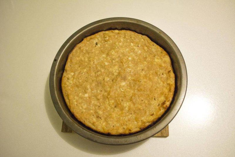 Творожная запеканка из ржаной муки | Рецепт приготовления | Шаг 9