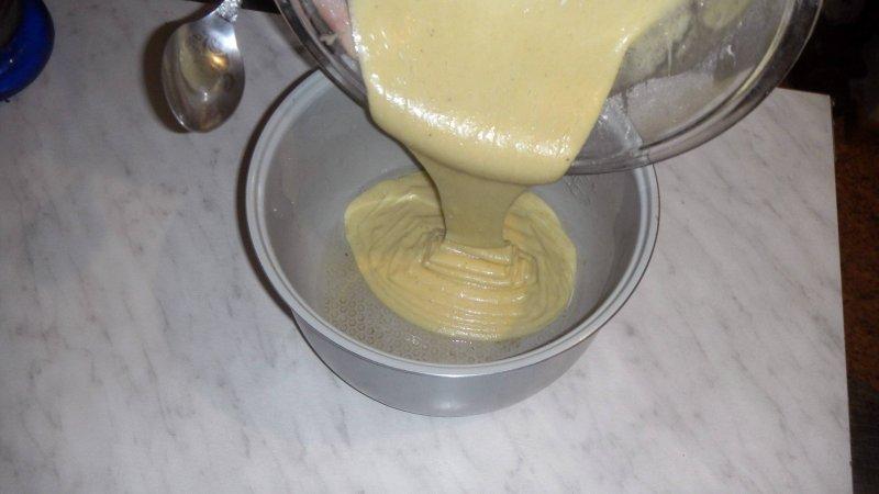 Пирог с фруктами в мультиварке | Рецепт приготовления | Шаг 6