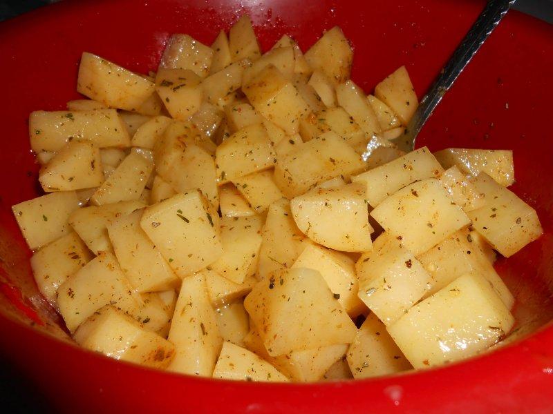 Куриные ножки с картофелем в медовом соусе | Рецепт приготовления | Шаг 3