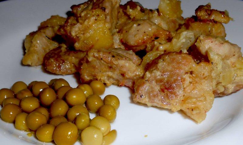 Свинина с картофелем в рукаве | Главное фото блюда